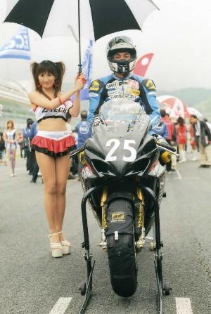 2008年Z−TECHレースクイーン(全日本ロードレース)