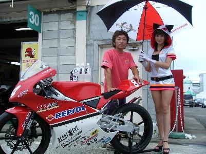 2009年TS関東REPSOL/T−GPレースクイーン(全日本ロードレース)